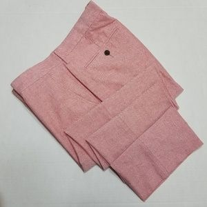 J. Crew Pink Slim Bedford pants - 36x30